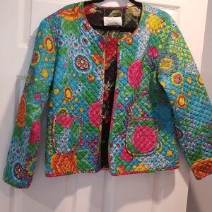 Sacred threads quilt jacket VINTAGE